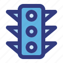 electric, lamp, light, road, trafic, transport, transportation icon