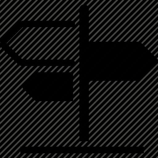arrows, border point, direction, pointer, sign, toursim icon