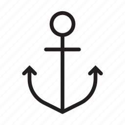 anchor, boat, navy, sail, sailing, sailor, ship icon