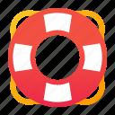 life ring, lifebuoy, safety, sail
