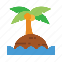 beach, holiday, outdoor, recreation, travel icon