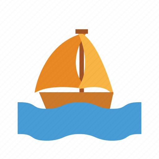 boat, holiday, outdoor, recreation, travel icon