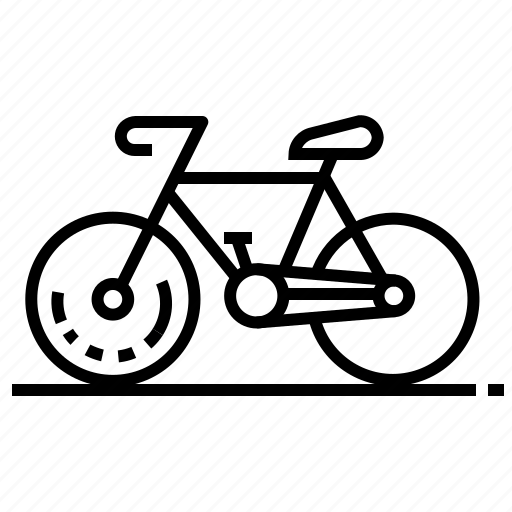 bicycle, sport, transport, vehicle icon