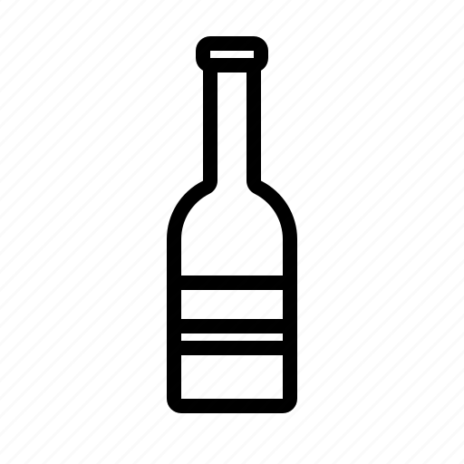 alcohol, beer, bottle, drink, travel icon