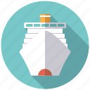 cruise, cruise ship, holidays, ocean liner, ship, travel, vacation icon