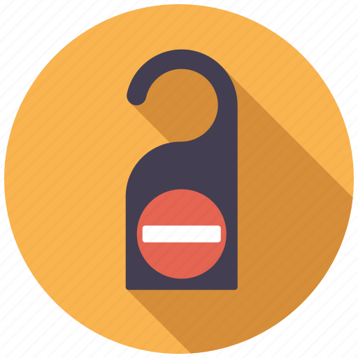 door, holidays, hotel, room, tag, travel, vacation icon