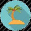summer, island, travel, vacation, holidays, palm tree, beach