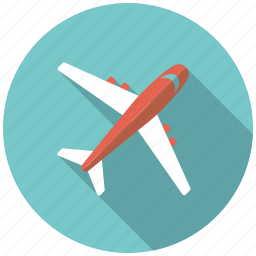 airplane, holidays, jet, plane, transportation, travel, vacation icon
