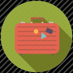 holidays, luggage, suitcase, tourism, travel, vacation icon