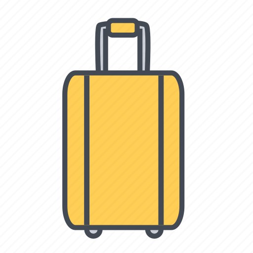 bag, baggage, business, luggage, suitcase, travel icon