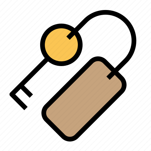holiday, hotel, key, room, traveling icon