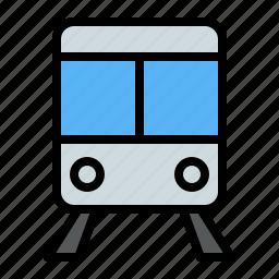 holiday, train, transportation, traveling icon