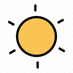 holiday, sun, traveling, weather icon