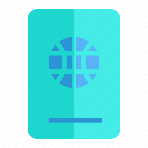 holiday, id, passport, traveling icon