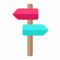 destication, direction, holiday, traveling icon