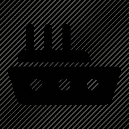 holiday, ship, transportation, traveling icon