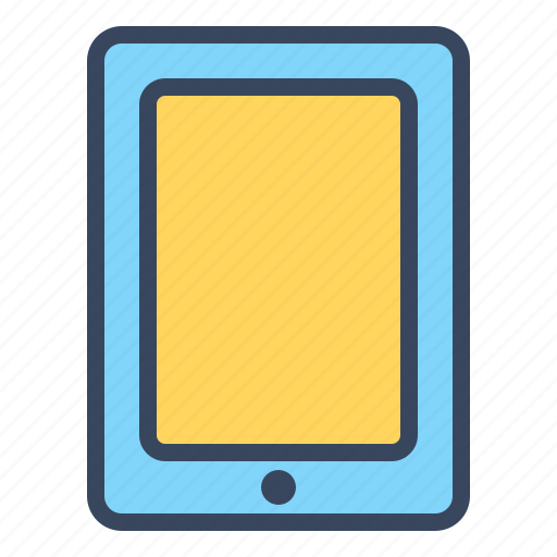 gadget, ipad, mobile, tablet, technology, travel icon