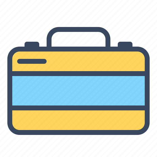 bag, briefcase, business, finance, office, suitcase, travel icon