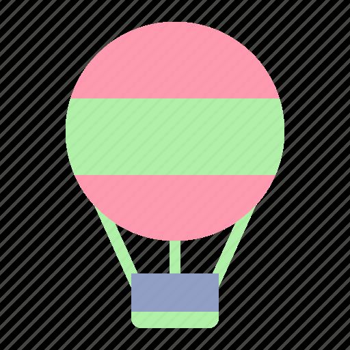 air, balloon, hot, travel icon