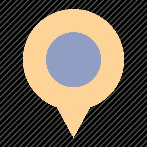 gps, location, maps, navigation, pin, travel icon