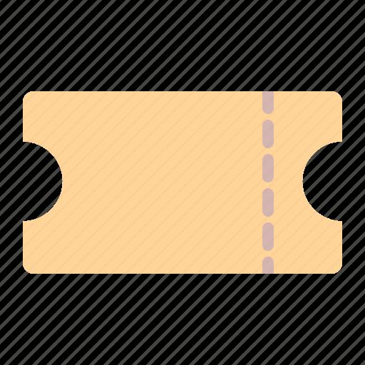 cinema, coupon, pass, show, ticket, travelreceipt icon