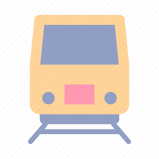public, rail, train, tram, transport, trasnportation, travel icon