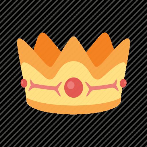 crown, gems, gold, royal, treasure icon