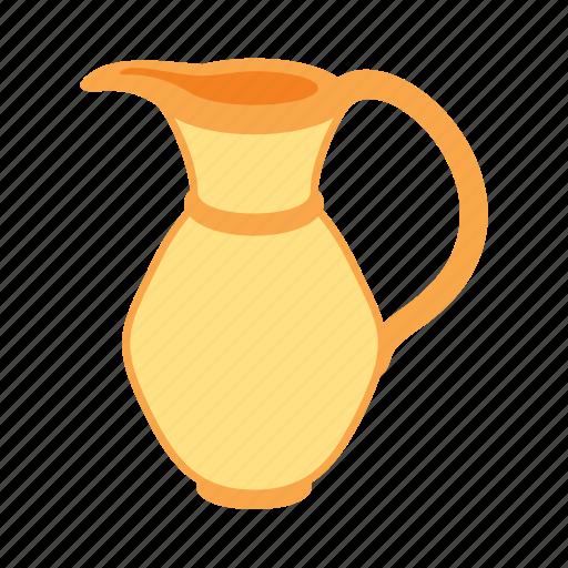 dinner, gold, jar, treasure icon