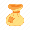 bag, patch, sack, treasure icon