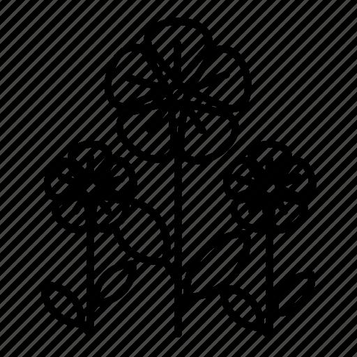 flower, garden, nature, plant, tree icon