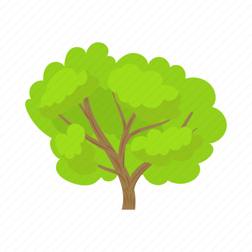 Cartoon, environment, green, natural, nature, plant, tree icon - Download on Iconfinder