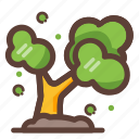 ecology, flower, garden, nature, plant, tree icon