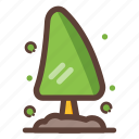 christmas, garden, nature, plant, tree icon