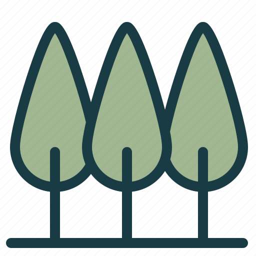 eco, enviroment, forest, friendly, minimal, tree, trees icon