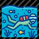 scuba, diving, snorkeling, adventure, sports
