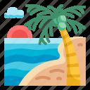 beach, vacation, summer, sea, sun