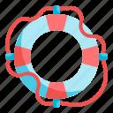 lifebuoy, lifesaver, lifeguard, floating, security