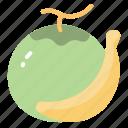 banana, coconut, food, fruit, nature, tropical