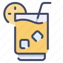 alcohol, beach, beverage, cocktail, drink, ice, tropical icon
