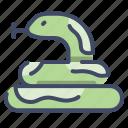 animal, cobra, reptile, serpent, snake, viper icon