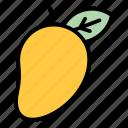 tropical, mango, fruit, healthy
