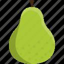 fruit, green, pear, food, healthy