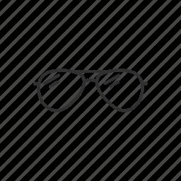 eyewear, shades, summer glasses, sun glasses icon