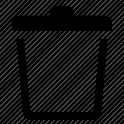 bin, can, trash, waste icon