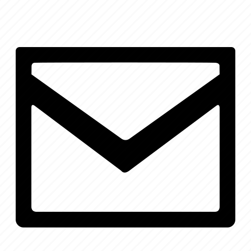 envelope, letter, mail, send icon