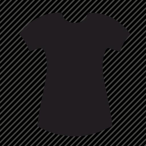 female, slim, tshirt, wear, woman, women icon