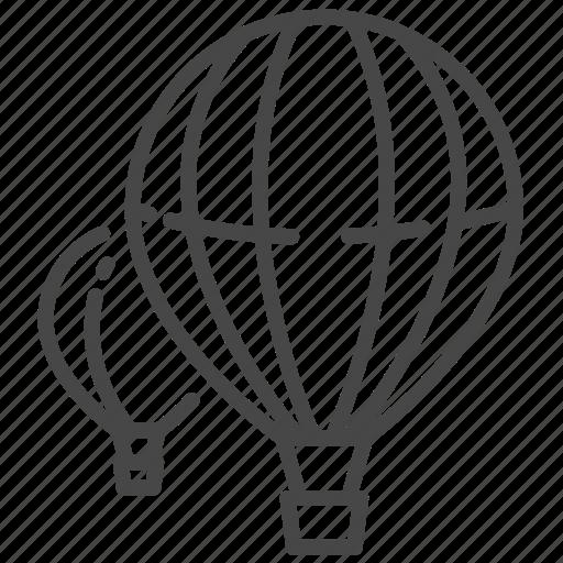 balloon, ballooning, balloons, cappadocia, turkey, turkish, vacation icon
