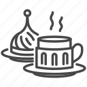 coffee, cup, travel, turkey, turkish, turkish coffee icon