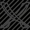 blade, military, sword, turkey, turkish, war, weapon icon