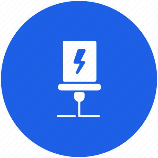 electric, home, shock, smart, smarthome icon